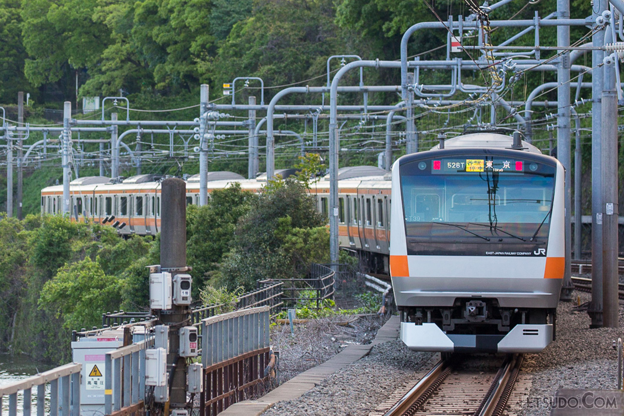 東京駅発着の中央線各駅停車