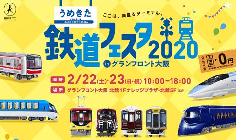うめきた鉄道フェスタ2020