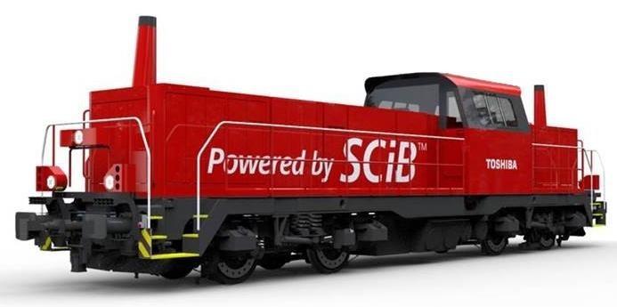 ハイブリッド機関車完成(イメージ)