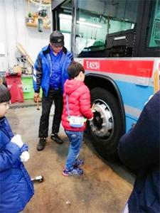 バス営業所・工場探検ツアー(イメージ)