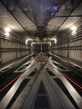 東豊線大通駅付近の隧道