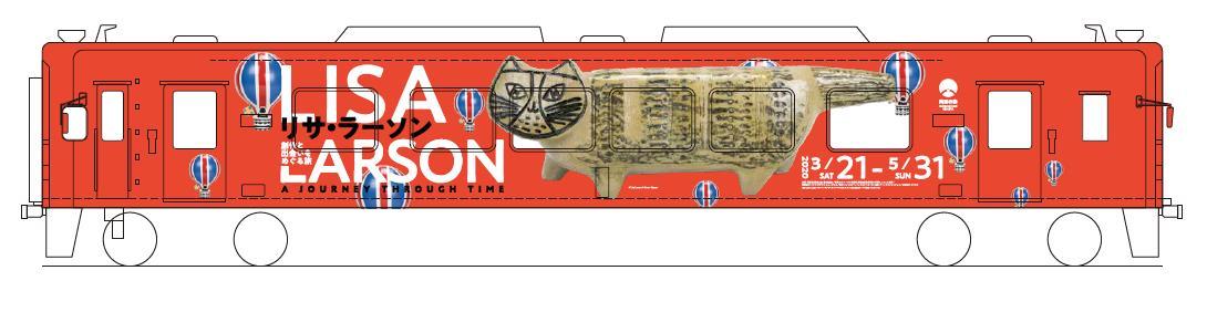 ラッピング列車(イメージ)