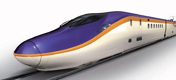 山形新幹線用E8系(イメージ)