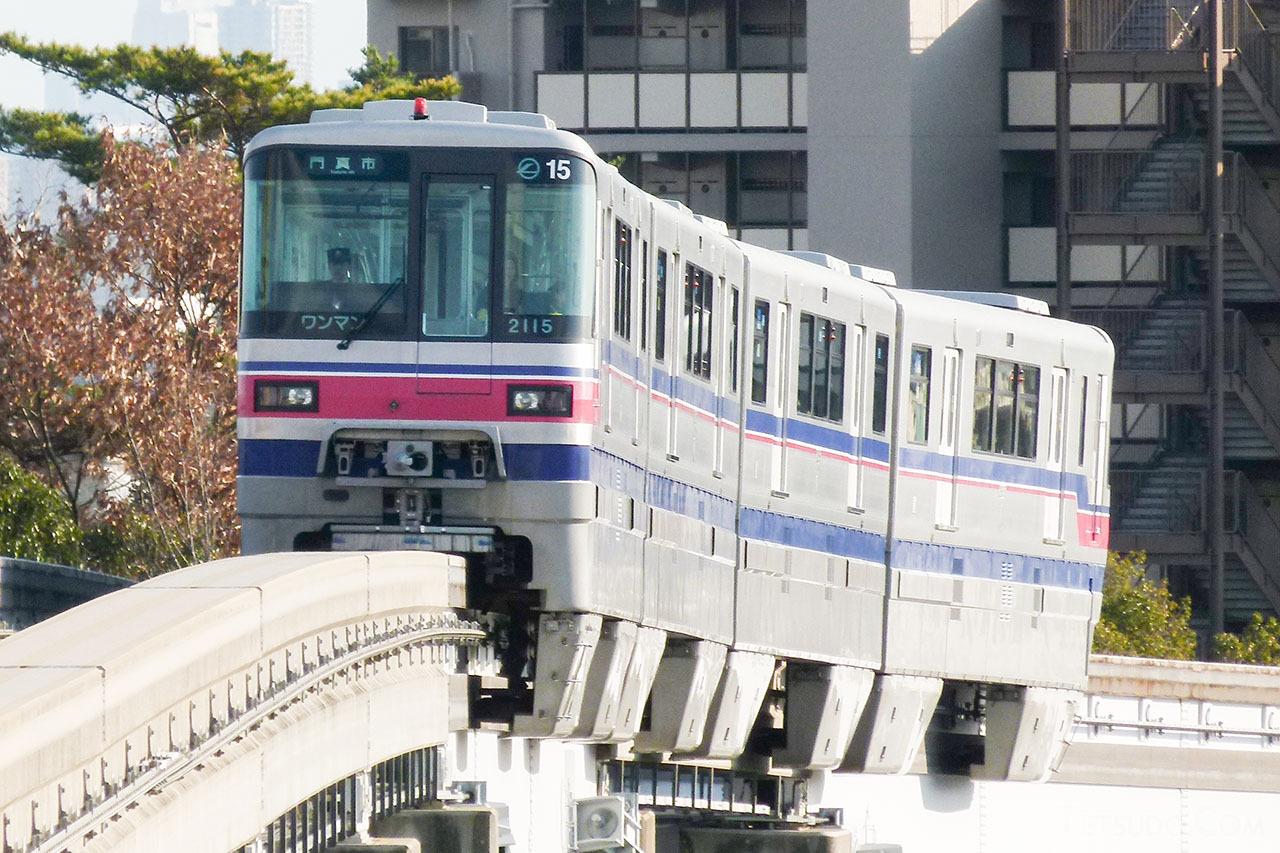 大阪モノレールの車両