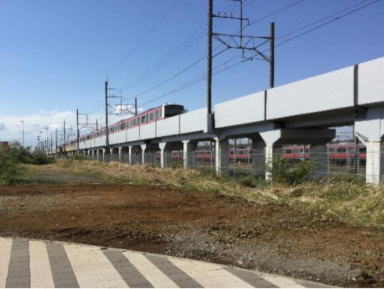 新駅設置予定地