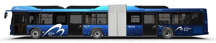 連節バス「BAYSIDE BLUE」(イメージ)