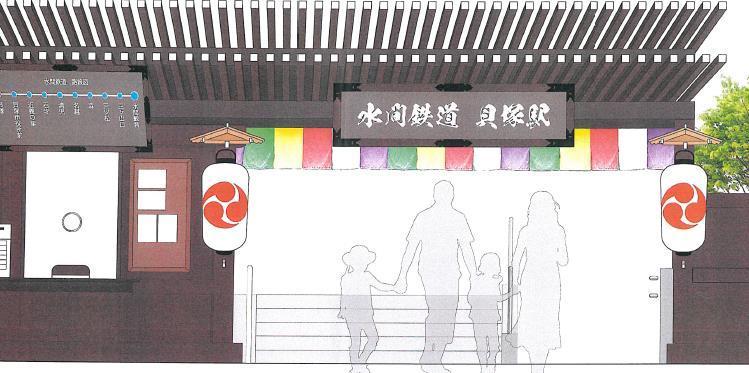 貝塚駅(改札前イメージ)