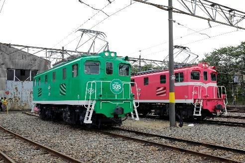 電気機関車(展示イメージ)