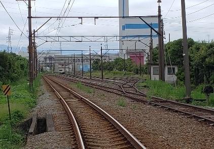 貨物線ヤード跡