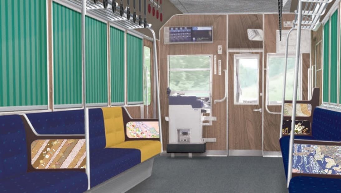723号車リニューアル車両(内装イメージ)