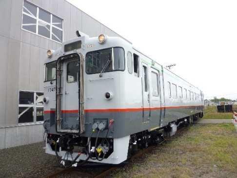 キハ400急行気動車風車両