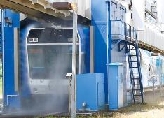 モノレール洗浄機