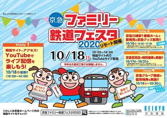 京急ファミリー鉄道フェスタ2020