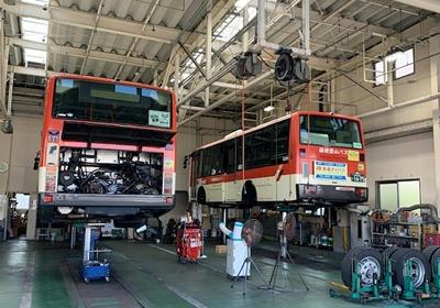 箱根登山バス車庫