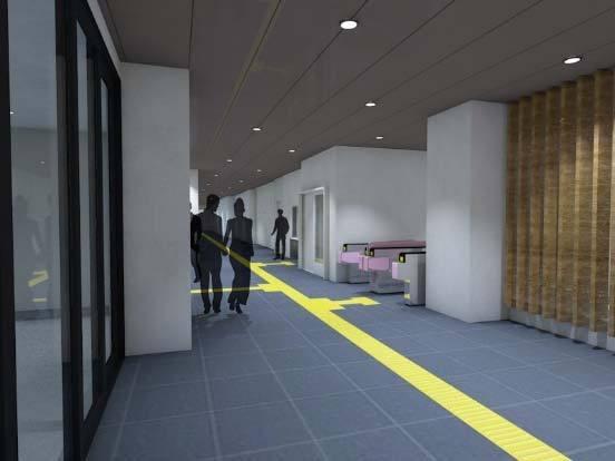 1階南北通路(リニューアル後イメージ)