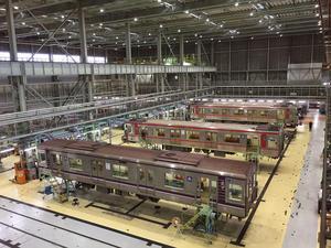 工場内俯瞰映像