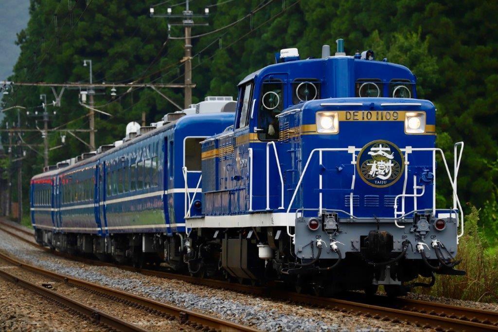 DE10客車列車(イメージ)