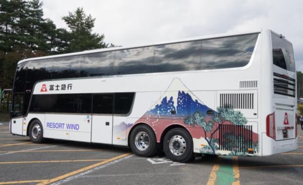 スカニア製2階建てバス「アストロメガ」