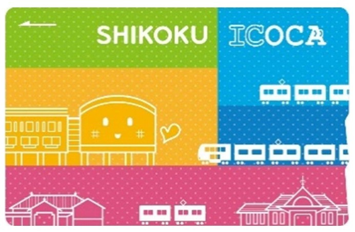 SHIKOKU ICOCA新デザイン(イメージ)