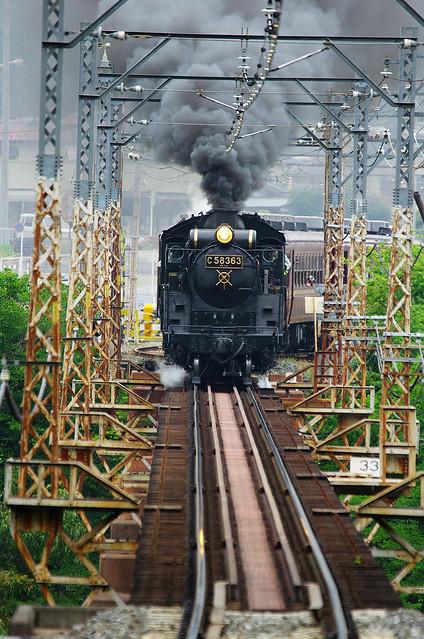 鉄道 sl 秩父