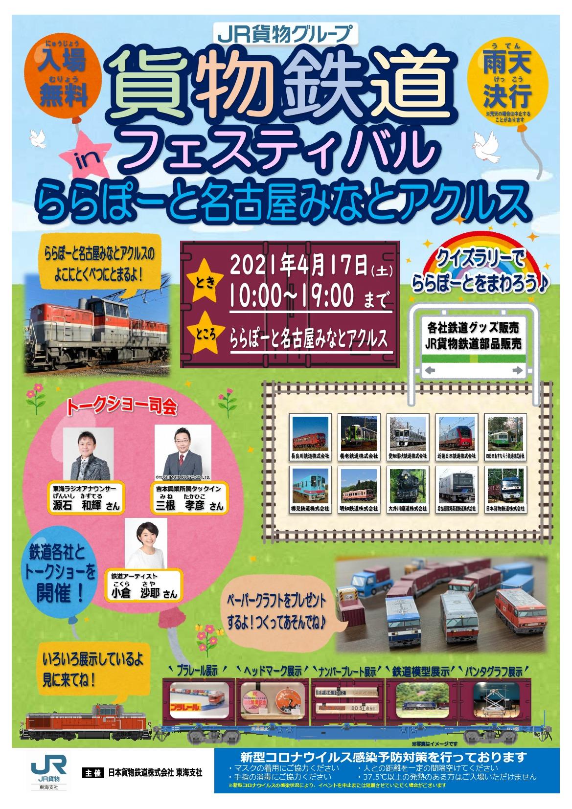 貨物鉄道フェスティバル