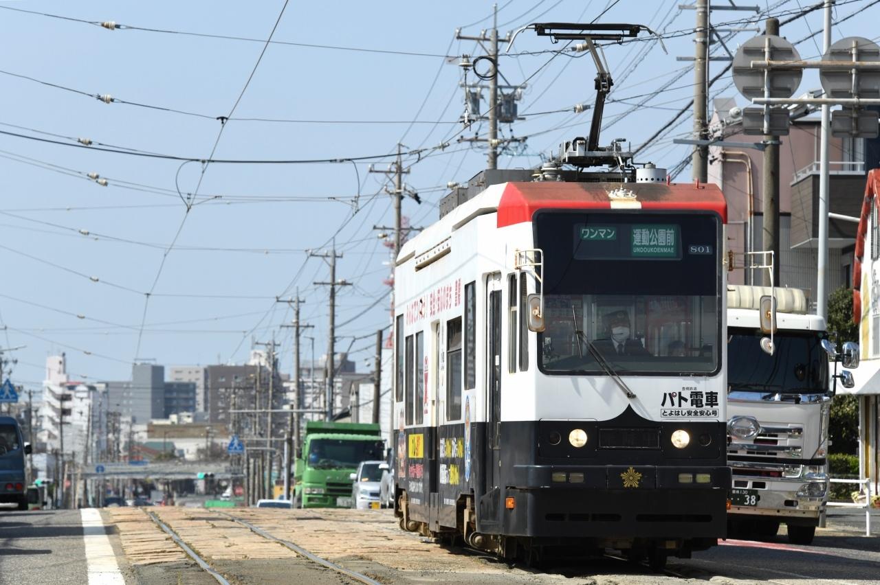 800形パト電車