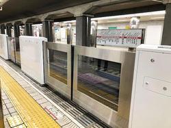 大阪メトロ 昭和町駅 可動式ホーム柵 運用