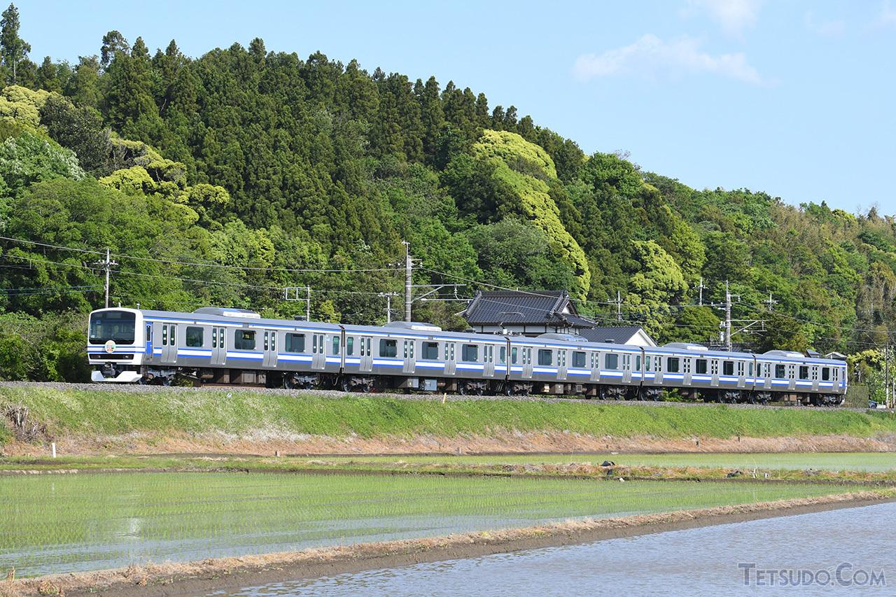 成田線我孫子~成田間120周年記念列車