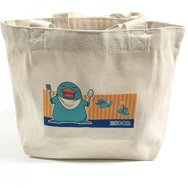 カモノハシのイコちゃんランチバッグ