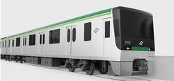 仙台市、地下鉄南北線新型車両のデザインを決定