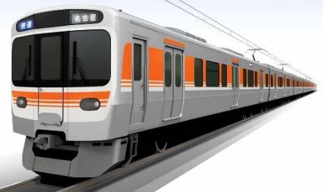 新型在来線通勤型電車「315系」(イメージ)