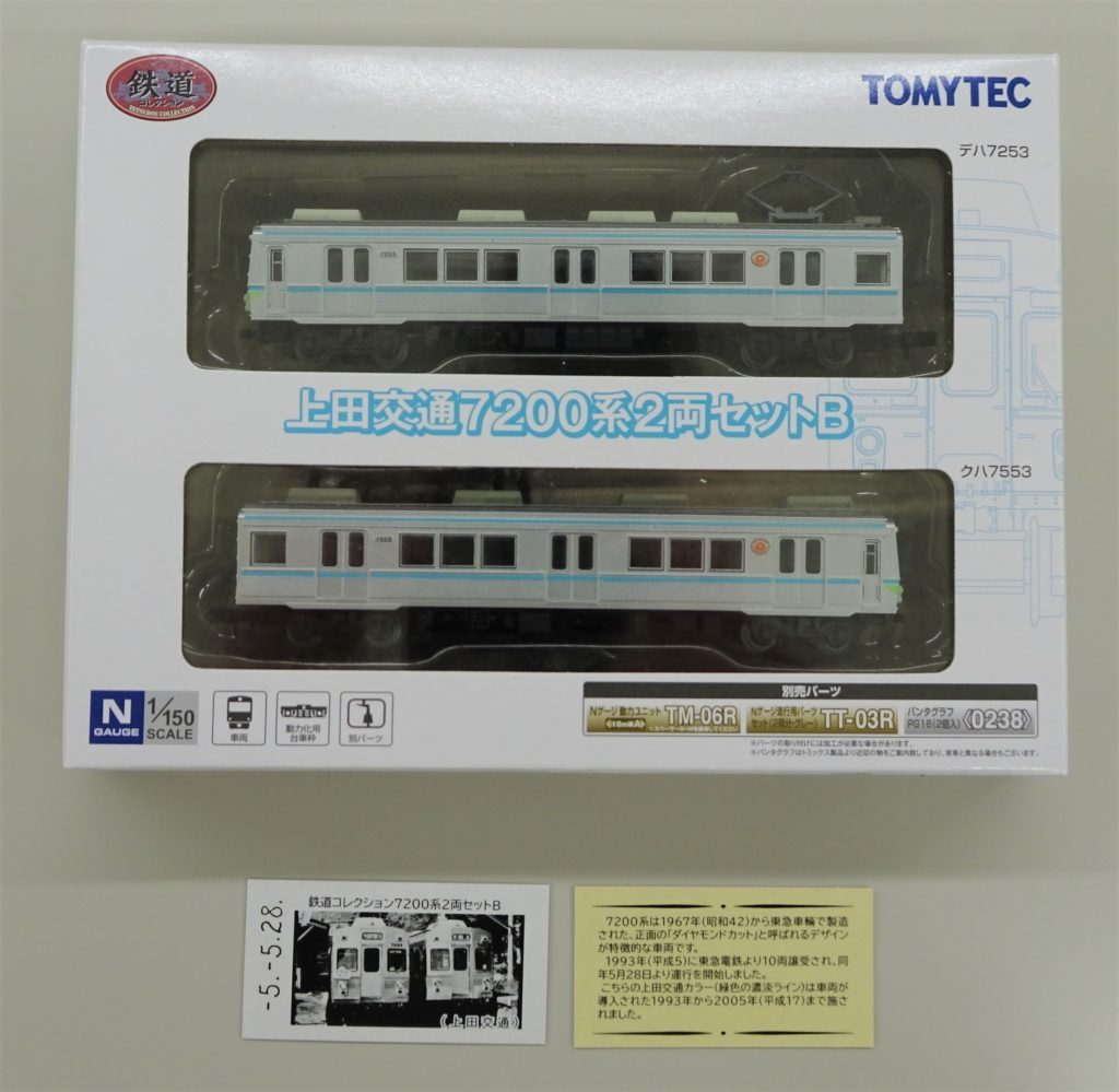 鉄道コレクション 7200系2両セットB