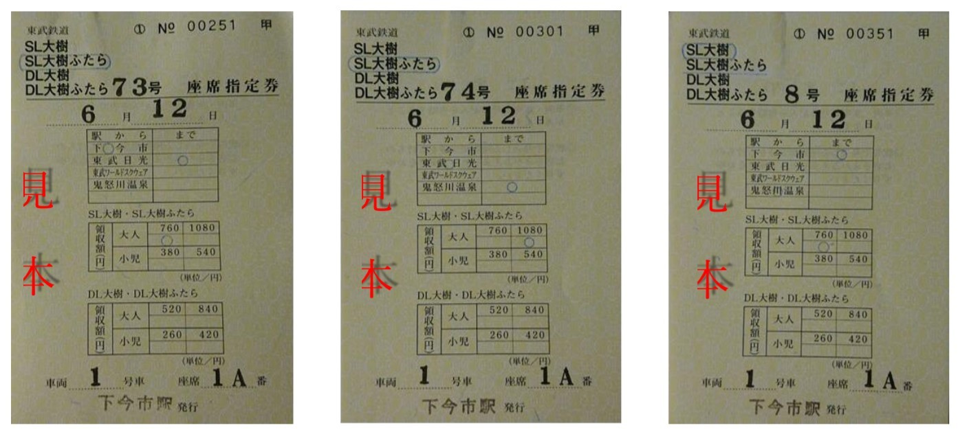 乗りつくしセット券(イメージ)