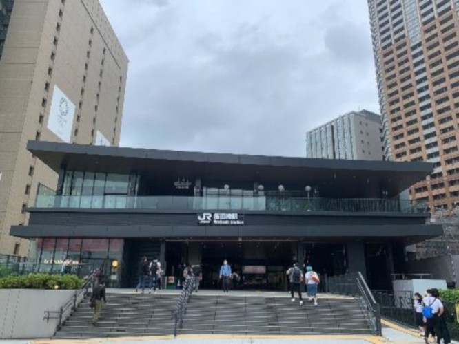 飯田橋駅西口駅舎