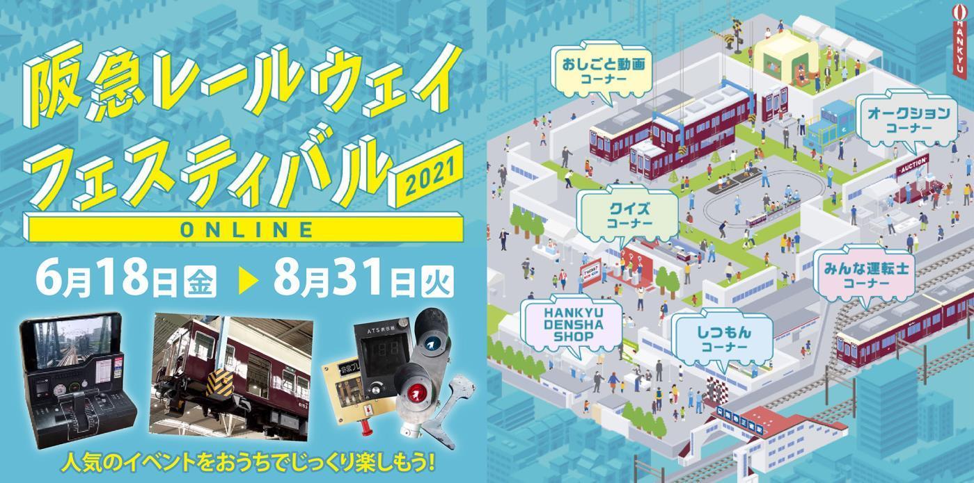 阪急レールウェイフェスティバル2021 ONLINE