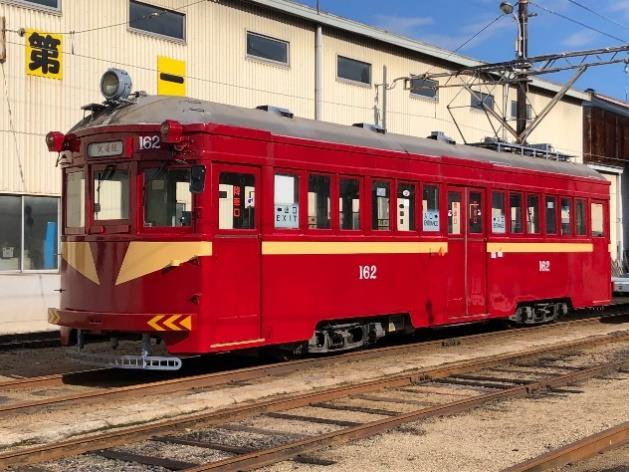 162号車(筑鉄電車カラー車両)