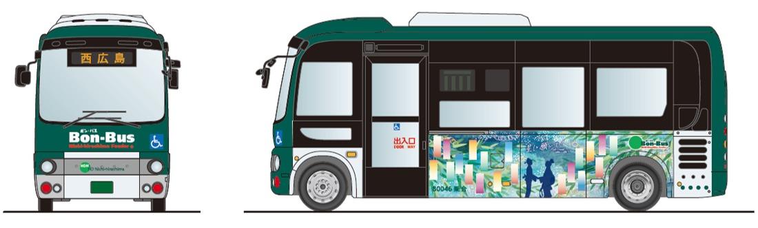 七夕バス(イメージ)