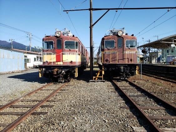 貨物列車で活躍した電気機関車
