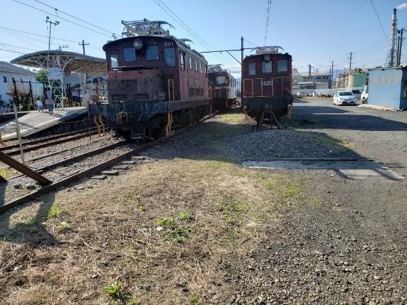 岳南電車の電気機関車