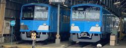 近江鉄道 300形302号 試乗会