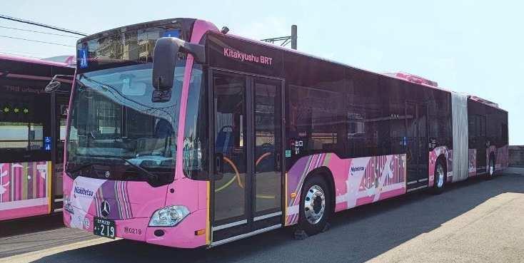 恒見~小倉間の連節バス