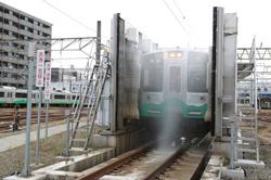 えちごトキめき鉄道 直江津D51レールパーク 回送列車乗車体験