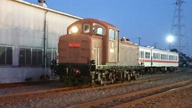 DD502号機関車