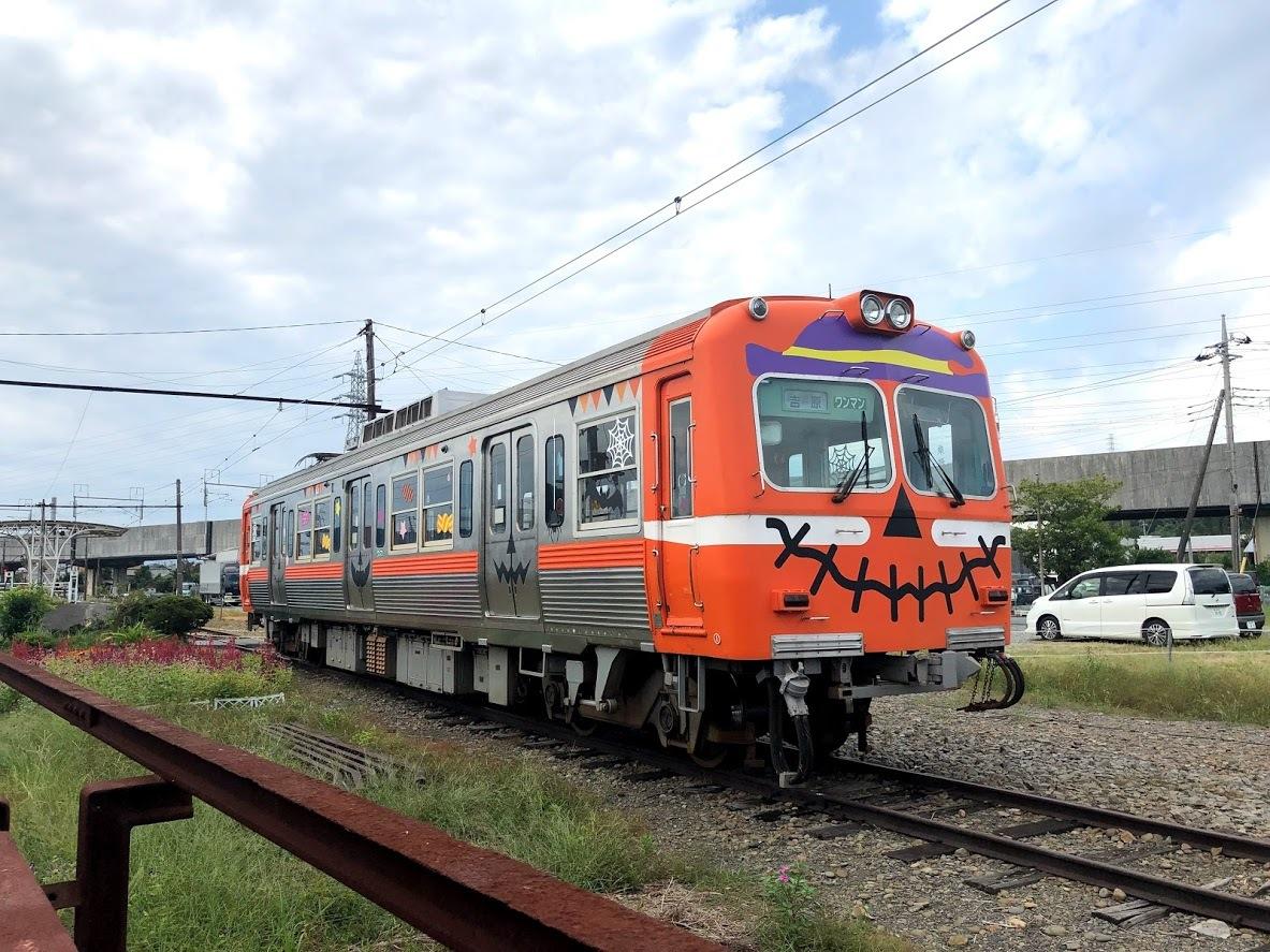 ハロウィンラッピング電車(イメージ)