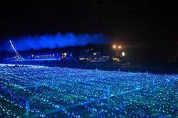 東武 SL大樹 イルミネーション特別運行