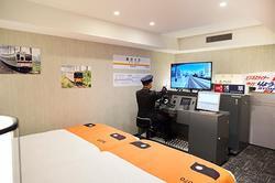 東武 鉄道運転シミュレータールーム 宿泊プラン 提供