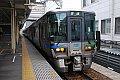 泊行き富山駅