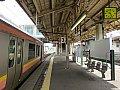 上越線六日町駅とE129系