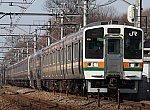 高崎線211系3000番台(2008年12月23日)