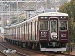 阪神競馬場「阪急杯」ヘッドマークを掲出する5002×6R
